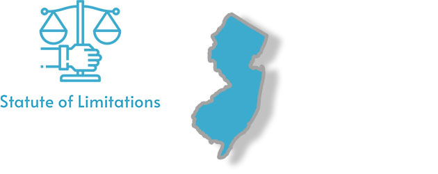 Statute of Limitations laws as they apply to the state of New Jersey