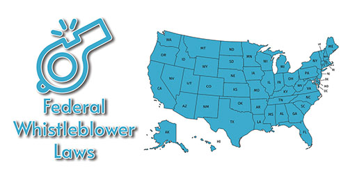 A list of all the whistleblower laws at the federal lever