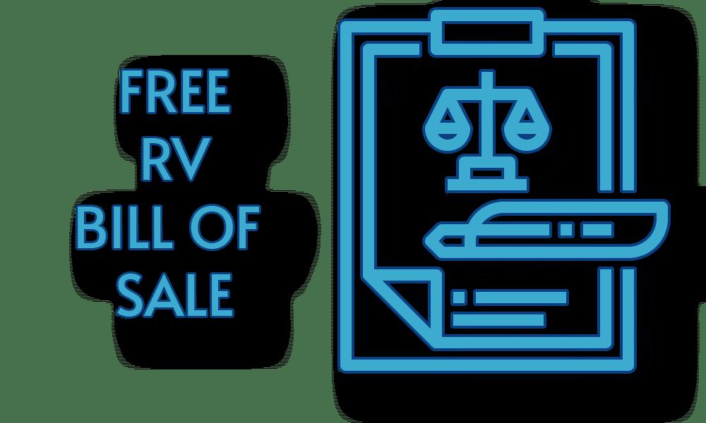 Free RV Bill of Sale Template