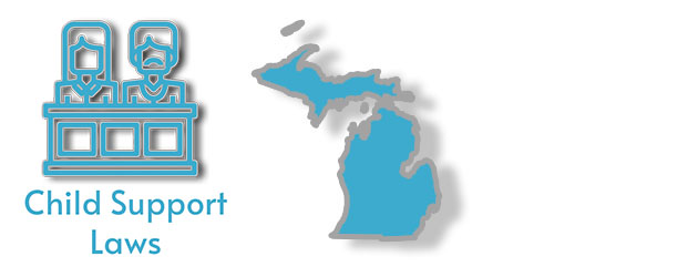Child Support Laws as they apply to the state of Michigan