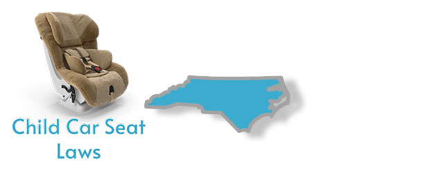 Car Seat Laws as they pertain to the state of North Carolina