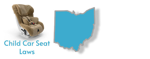 Child Car Seat Laws as they pertain to the state of Ohio