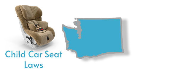 Child Car Seat Laws as they apply to the state of Washington